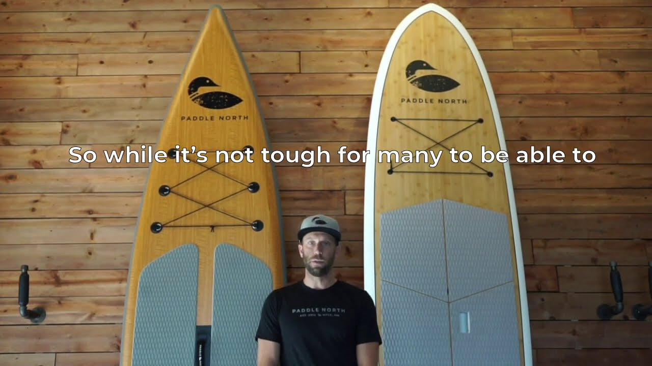 Inflatable vs  Solid Paddle Boards
