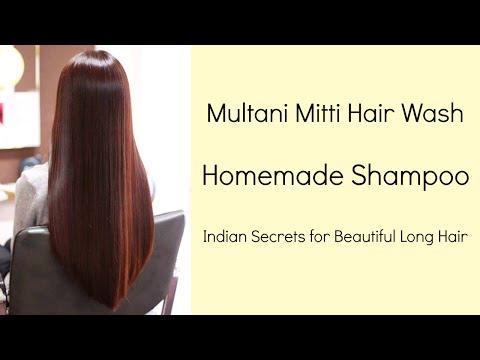Multani Mitti Hair Wash | Natural Homemade Shampoo | Multani Mitti Hair Pack