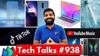 Tech Talks #938 - OnePlus 8 Leaks, Galaxy Fold Sold Out, TikTok Ban Political Ads, Realme X2 Pro 50W