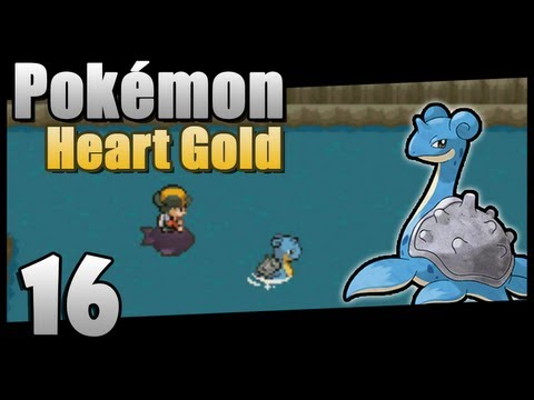 Guida Pokémon Heart Gold - Parte 16 - Lapras!