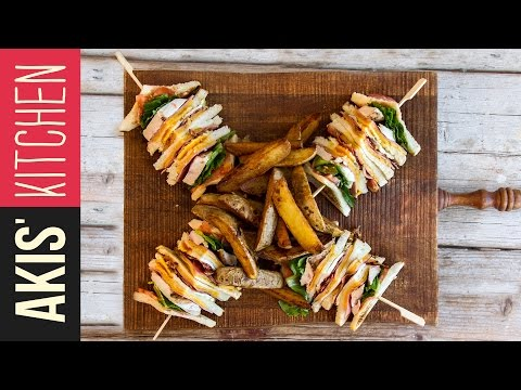 Club Sandwich | Akis Kitchen