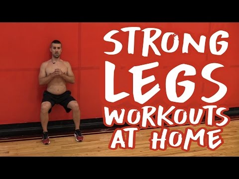 Strong Legs Workouts at Home (No More SKINNY Legs!)