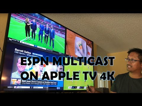 ESPN Multicast Apple TV 4k