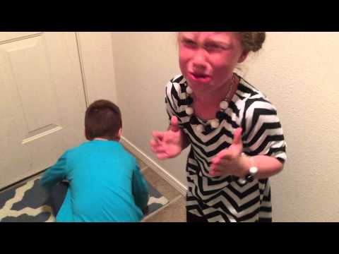 Hilarious tooth pulled using dental floss and door method.