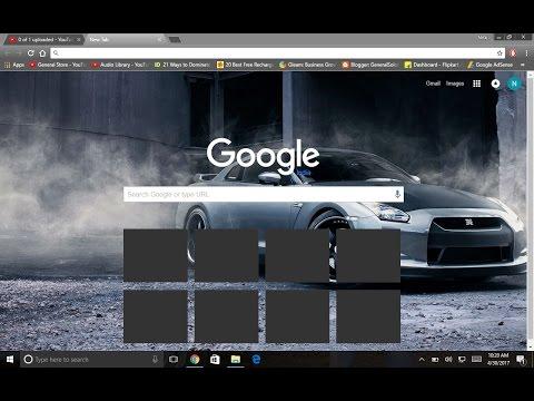 Get UR Google Chrome THEMED !! Change THEME of GOOGLE CHROME