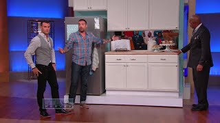 Three easy ways to upgrade your kitchen || STEVE HARVEY