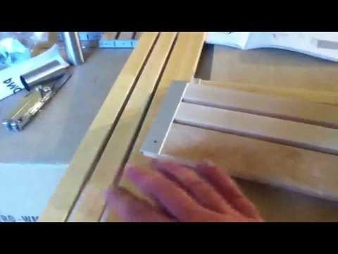 Ikea GODMORGON bathroom base sink cabinet assembly