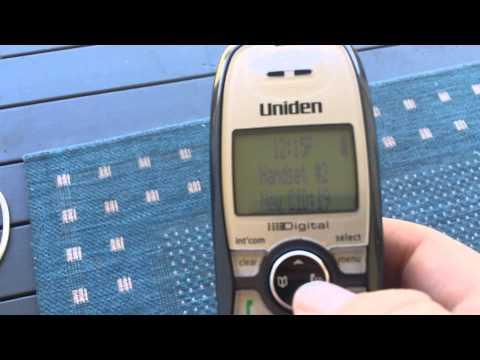 Uniden - Call Block Feature