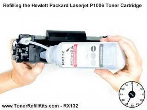P1006 HP CB435A Toner Cartridge Refill