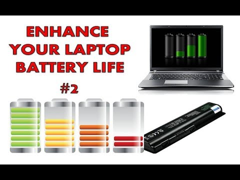How to save and double your laptop battery life -Boost Up and charging Tips #2