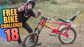 THE FREE BIKE CHALLENGE - PART 18 - DOWNHILL CHOPPER