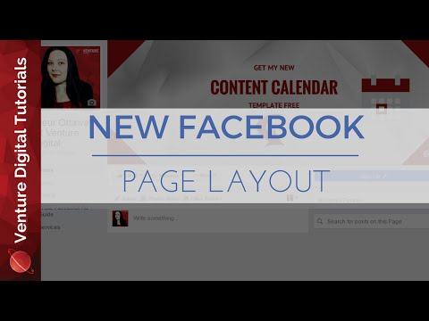 2016 New Business Page Layout For Facebook - How To