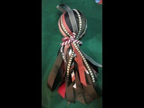 Tassel Ribbon Ornament Tutorial