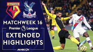 Watford V Crystal Palace PREMIER LEAGUE HIGHLIGHTS 120719 NBC Sports