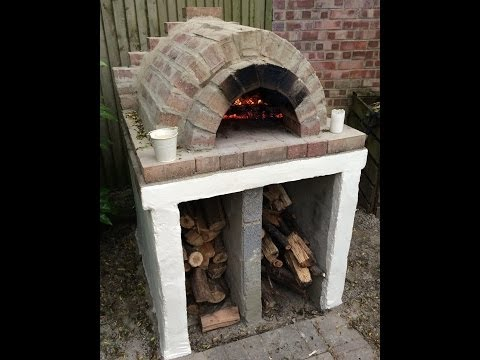 Homemade Easy Outdoor Pizza Oven DIY