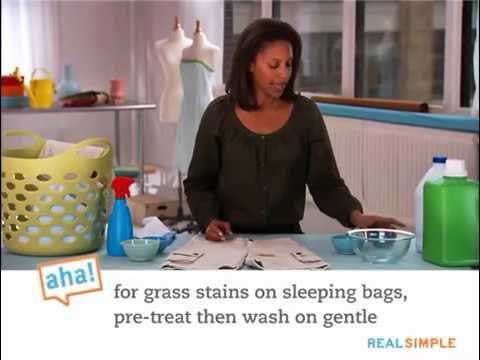 How to remove grass stains from clothes