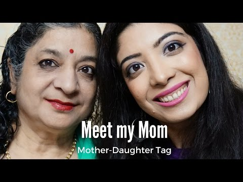 Mother Daughter Tag in Hindi   Meet my Mom   Secrets, Childhood, Bad Habits, Video Blogging, Food