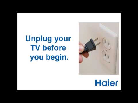 Cleaning the screen  - Haier Televisions