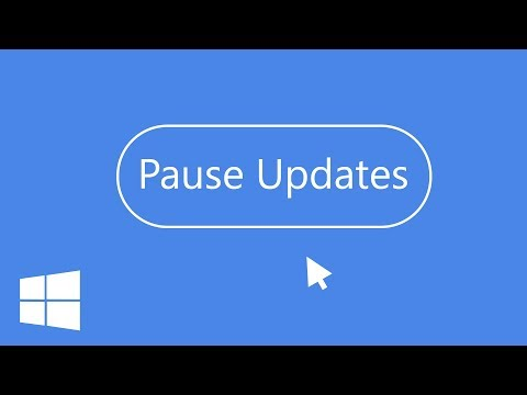 How to Pause Updates in Windows 10│Creator's Update