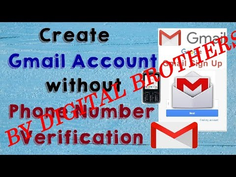 How to Make Unlimited Gmail Account in Android Mobile Without Mobile Number [Hindi]