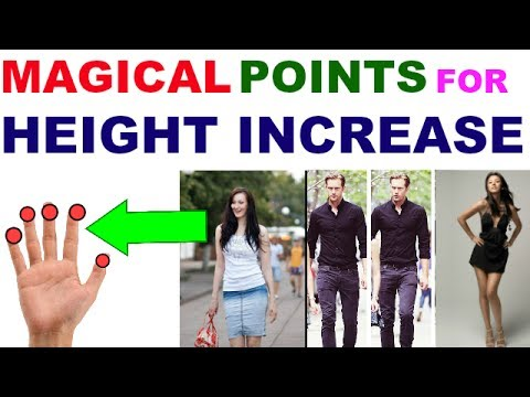 Sujok Therapy For Height Increase/Acupressure Points For Height Increase After Puberty