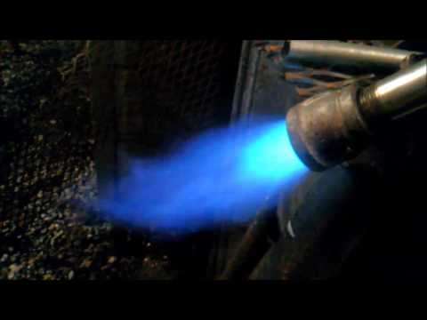 Propane Burner for Blacksmith Forge or other applications.