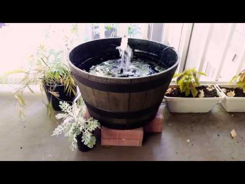 How to make a patio pond under $25