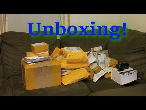 Huge Vape Mail Unboxing!