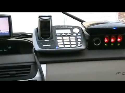 Verizon Wireless Home Phone Connect and Uniden ELBT595 + BURGER PHONE!