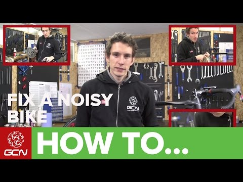 How To Fix Your Bike - Find Your Creak!