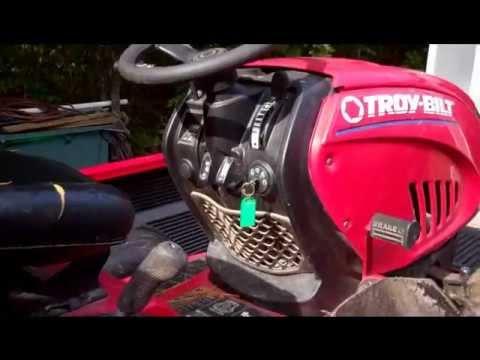 Craigslist 'Free Ads' Find . . Troy Bilt Riding Mower