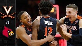 Virginia vs. Louisville Basketball Highlights (2017-18)