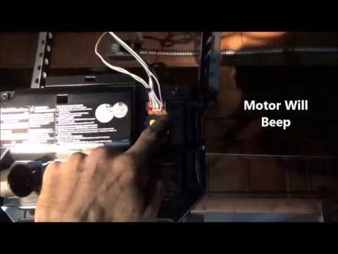 Travel Limits-Adjust Chamberlain, LiftMaster/Program Buttons