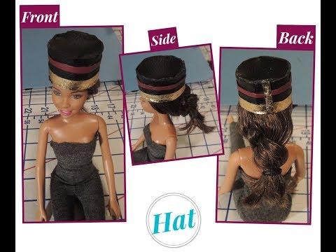 How to Make  - DIY:  Barbie Hat {7 EASY Steps}