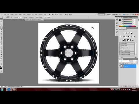 Put Rims on a Car Using Adobe Photoshop! (Tutorial)