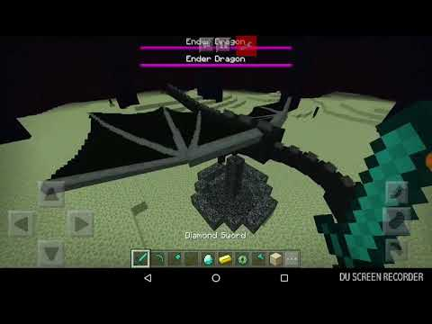 How to find end portal and killing ender dragon !!