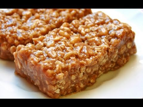The Best Homemade Peanut Butter Oatmeal Protein Bars for Gaining Muscle & Losing Fat