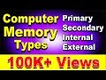 Different Types of Computer Memory Explained (Hindi)