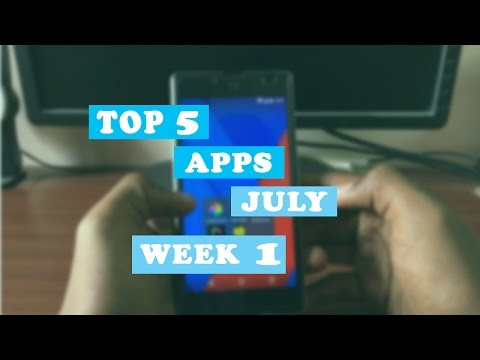 Top 5 ANDROID APPS JULY 2016 WEEK -1