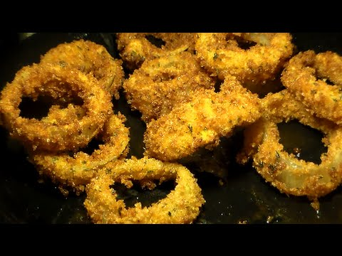 How To Make Crispy Fried Onion Rings: Homemade Onion Rings Recipe