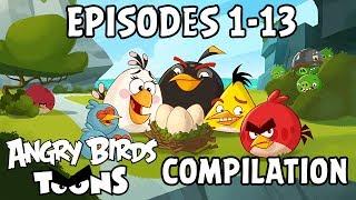 Angry Birds Toons Compilation | Season 1 | Ep1-13