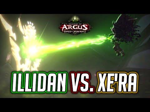 WoW Legion 🌟 Illidan Politely Rejects Xe'ra's Advances - Patch 7.3