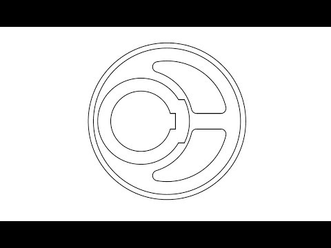 2D AutoCAD drawing for practice