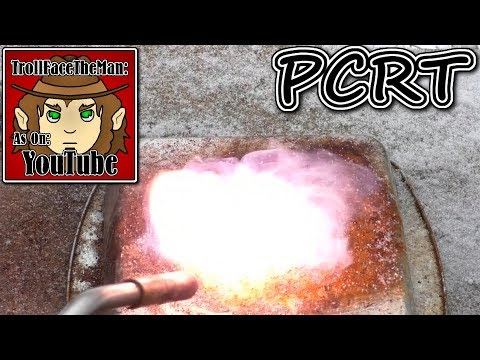 PCRT RV, Candy Cane (Potassium Chlorate Reaction Test Revamped)