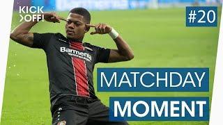 Leon Bailey freekick goal stuns Bayern Munich