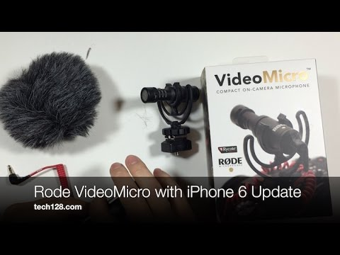 Rode VideoMicro with iPhone 6 Update