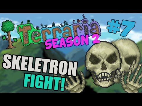 Let's Play Terraria 1.2.4 iOS/Android - Skeletron! - 7 #2
