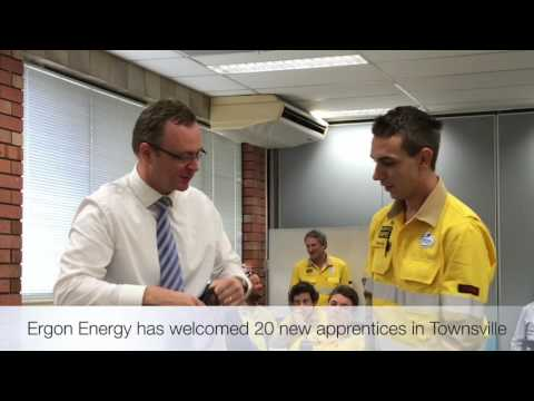 2017 Ergon Energy Townsville Apprentices induction