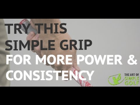 Golf: How to Grip It for Power And Consistency With A 10 Finger & Baseball Grip