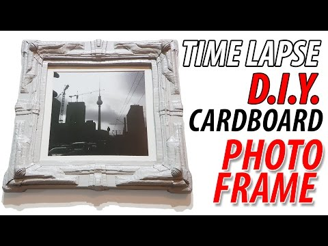 DIY  Very detailed Photo Frame Full Time Lapse